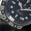 OCEAN Forty-Four Steinhart Diver Watch GMT BLACK Keramik - Sapphire glass flat