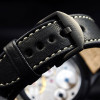 Nav B-Uhr Steinhart Pilot Watch 47 Handaufzug Black - Buckle Stainless steel pin buckle, OEM 22mm black PVD, screwed with logo