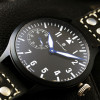 Nav B-Uhr Steinhart Pilot Watch 47 Handaufzug Black - side view