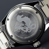 OCEAN 1 BLACK Aluminium - Back Stainless steel 316 L screwed