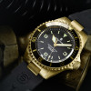 OCEAN 1 Steinhart Diver Watch Bronze dark brown - Dial grey metalic