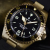 OCEAN 1 Steinhart Diver Watch Bronze dark brown - screwed Crown