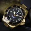 OCEAN 1 Steinhart Diver Watch Bronze dark brown - Bezel Bronze satin dark brown