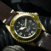 OCEAN 1 Steinhart Diver Watch Bronze light brown - Case bronze