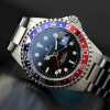GMT-OCEAN Steinhart Diver Watch 1 BLUE RED - Front