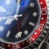 GMT-OCEAN Steinhart Diver Watch 1 BLUE RED - Sapphire glass flat