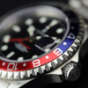 GMT-OCEAN Steinhart Diver Watch 1 BLUE RED - screwed Crown