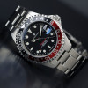 GMT-OCEAN Steinhart Diver Watch 1 BLACK RED - Front