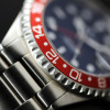 GMT-OCEAN Steinhart Diver Watch 1 BLACK RED - Dial and bezel