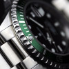 OCEAN 1 Steinhart Diver Watch GREEN - Stainless steel bezel