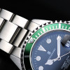 OCEAN 1 Steinhart Diver Watch GREEN - Sapphire glass flat