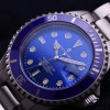 OCEAN One Steinhart Diver Watch Premium Blue - screwed crown
