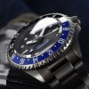 Ocean Titanium Steinhart Diver Watch 500 GMT Premium - Sapphire glass domed