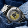 Ocean Titanium Steinhart Diver Watch 500 GMT Premium -  sapphire crystal bottom