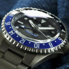 Ocean Titanium Steinhart Diver Watch 500 GMT Premium - Dial and bezel side view