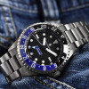 Ocean Titanium Steinhart Diver Watch 500 GMT Premium - Bezel Ceramic black/ blue