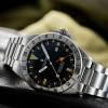 OCEAN VINTAGE Steinhart Diver Watch GMT NEW - Dial and Strap