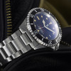 OCEAN One VINTAGE Steinhart Diver Watch Red/ New - screwed Crown stainless stee