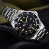 OCEAN One VINTAGE Steinhart Diver Watch Red/ New - black dial
