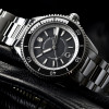 Ocean 2 Premium Steinhart Diver Watch Black - black dial screwed crown