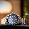 Ocean Two Steinhart Diver Watch Black - Wristwatch stainless steel and bezel