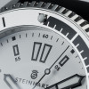 Ocean Two Steinhart Diver Watch White - dial screwed crown