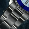 Ocean One 39 Steinhart Diver Watch blue - Wristwatch stainless steel & blue bezel