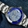 Ocean One 39 Steinhart Diver Watch blue - Front