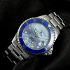 Ocean One 39 Steinhart Diver Watch blue - Wristwatch stainless steel