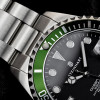 Ocean One 39 Steinhart Diver Watch green - bezel green stainless steel