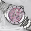 Ocean One 39 Steinhart Diver Watch pink - Wristwatch stainless steel