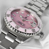 Ocean One 39 Steinhart Diver Watch pink - Black dial screwed crone