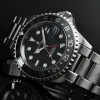 GMT-OCEAN 1 Steinhart Diver Watch BLACK Ceramik - Front