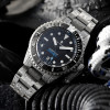 Ocean Titanium Steinhart Diver Watch 500 Premium - Decorated movement, blue screws and golden Steinhart rotor
