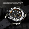 TRITON 1000 Steinhart Diver Watch Titan - top view