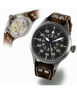 Nav B-Uhr 47 Titan B-Type Central Second