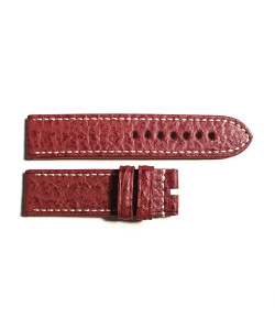 Special strap shark red, contrast stitching, size M