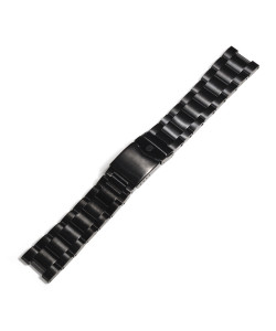 Stainless steel bracelet for Ocean 1 black DLC without endlinks