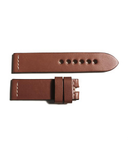 Leather strap brown size M
