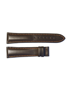 Leather strap brown for  Racetimer size L