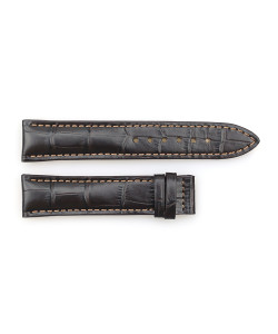 Leather strap coffee for Marine 38 size S