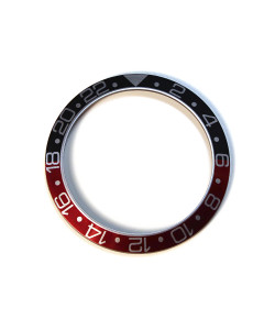 Aluminium inlay for GMT Ocean 1 Black/Red