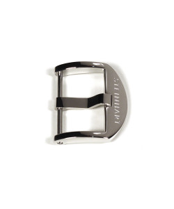 OEM buckle 18 mm stainless steel shiny with logo