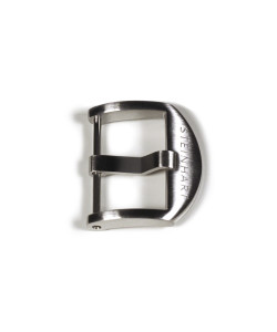 OEM buckle satined 22 mm with logo
