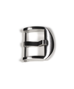 OEM buckle satined 22 mm without logo