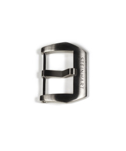 PRE-V buckle satined 24 mm with logo
