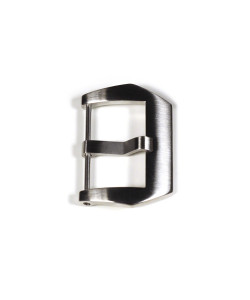 PRE-V buckle satined 24 mm without logo
