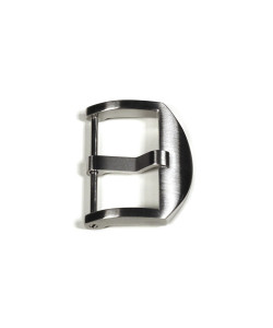 OEM buckle satined 24 mm without logo