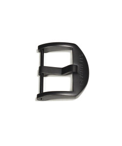 OEM buckle 22mm Black PVD with logo