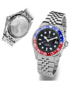 Ocean One GMT BLUE-RED. 2 Ceramic